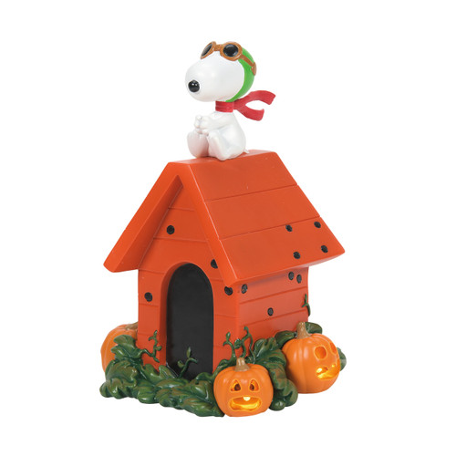 """Snoopy the World War 1 Flying Ace Halloween 6.25"""" Tall"""