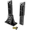 ERGO MAST™ SYSTEM FOR GLOCKS PACK: 1 SML FRAME (9MM/40CAL), 1 LRG FRAME (10MM/45CAL),1 BASE