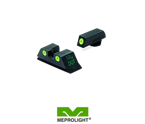MEPRO GLOCK 9MM/40S&W FIXED SELF ILLUMINATED NIGHT SIGHTS