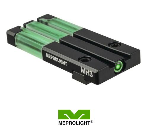 MEPRO HK45/P30/SFP9 FT BULLSEYE SELF-ILLUMINATED REAR SIGHT
