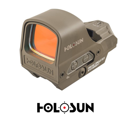 HS510C-FDE OPEN REFLEX CIRCLE DOT SIGHT