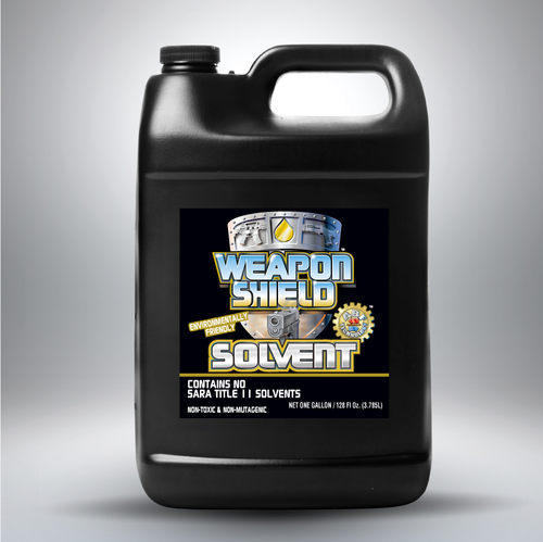 WEAPON SHIELD SOLVENT 4 X 1 GALLON CASE
