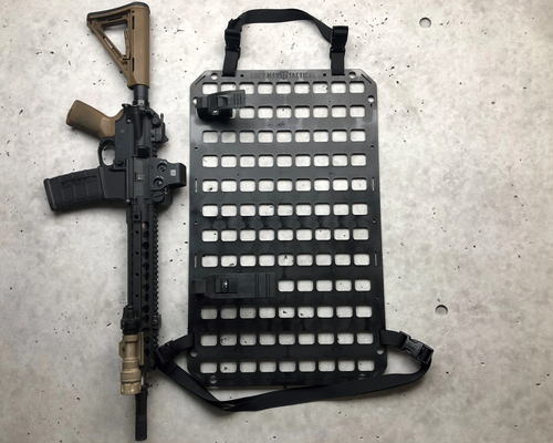 VEHICLE RIFLE RACK - RUBBER CLAMPS + 15.25 X 25 RMP