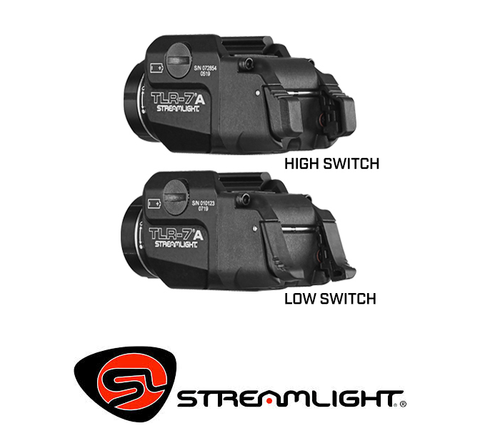 TLR-7 A 500 LUMEN GUN LIGHT WITH REAR SWITCH OPTIONS