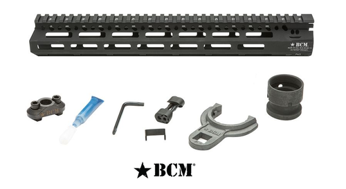 "BRAVO COMPANY AR-15 BCMGUNFIGHTER MCMR HANDGUARD 13"" M-LOK FREE FLOAT"
