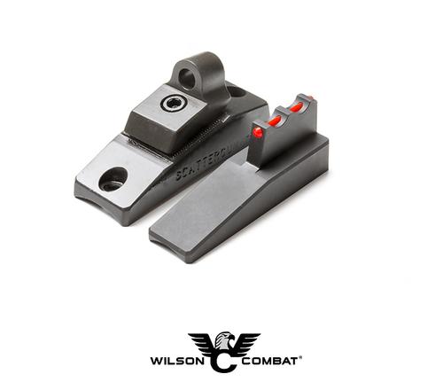 TRAK-LOCK® II GHOST RING SIGHT SET - 12 GAUGE RED FIBER OPTIC FRONT
