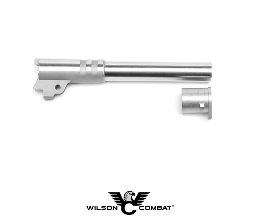 "MATCH GRADE BARREL - RAMPED 9MM FULL SIZE 5"" STAINLESS"