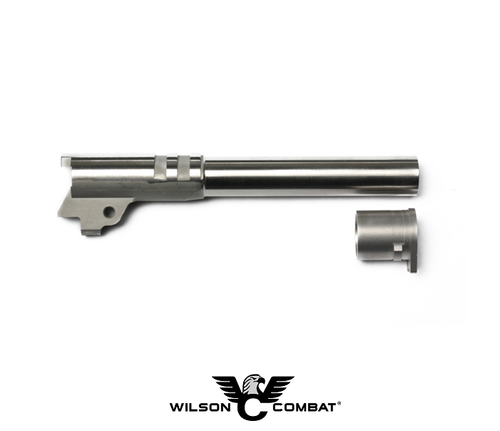 "MATCH GRADE BARREL - RAMPED 10MM FULL SIZE 5"" STAINLESS"