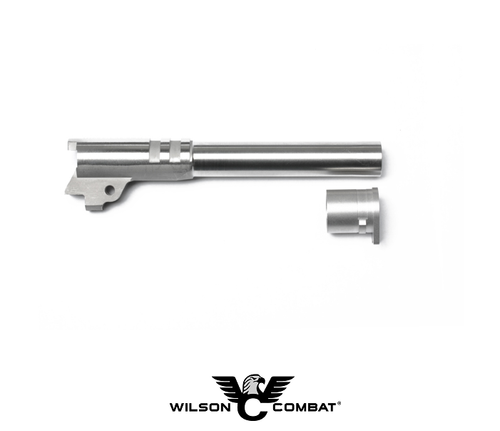 "MATCH GRADE BARREL - RAMPED .40 S&W FULL SIZE 5"" STAINLESS"