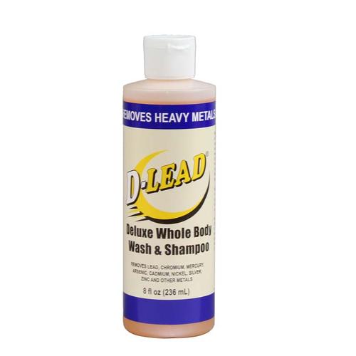 D-Lead® Deluxe Whole Body Wash & Shampoo 8 oz. bottles Case of 24 bottles