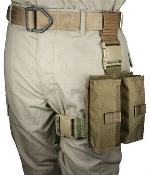 12 GA.SHOTSHELL 24 ROUND TACTICAL THIGH RIG