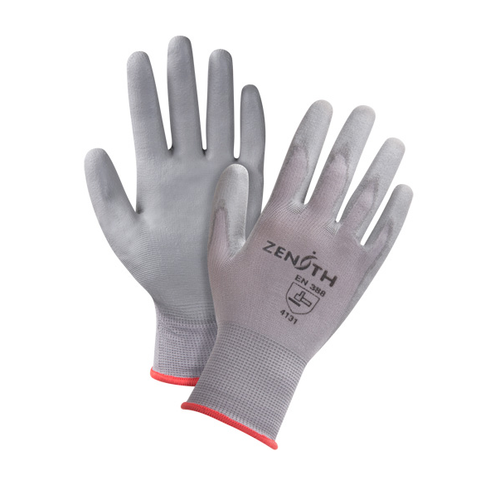 DMF-FREE POLYURETHANE COATED NYLON GLOVES