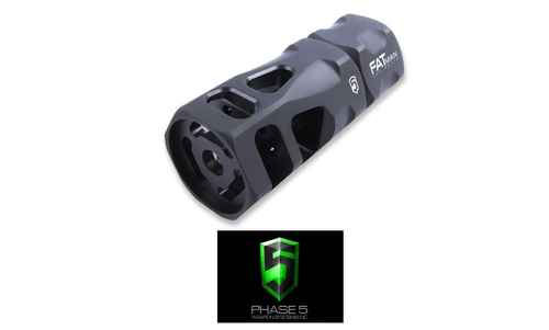 PHASE 5 FATMAN HEX BRAKE - 5.56/.223 - 1/2 X 28 TPI