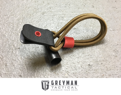 TOGGLE QUICK RELEASE SHOCK CORD - BLACK TAB