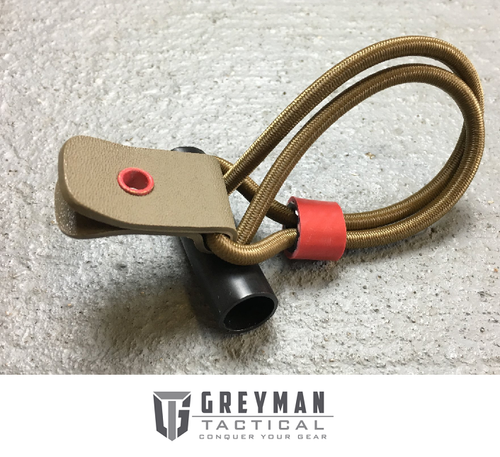TOGGLE QUICK RELEASE SHOCK CORD - FDE TAB