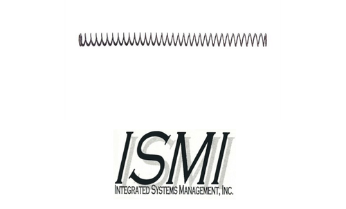 ISMI FLAT WIRE RECOIL SPRING 15LBS FOR GLOCK 17