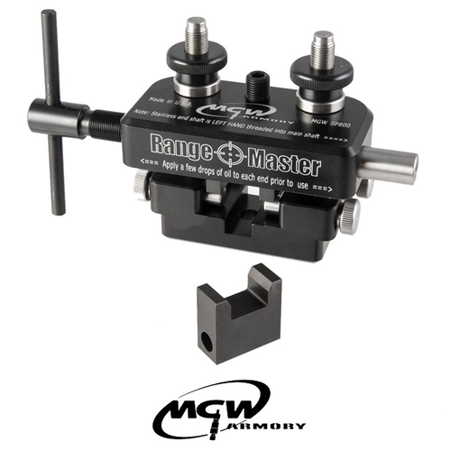MGW RANGE MASTER COMP UNIVERSAL SIGHT TOOL W/30™ BEVEL PUSHER BLOCK