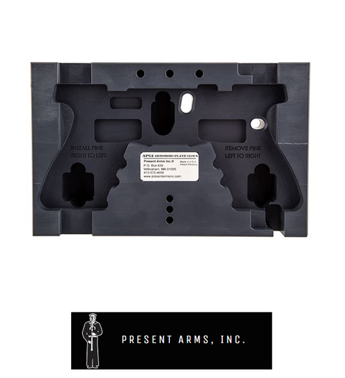 PRESENT ARMS INC ARMORER'S PLATE FOR GLOCK®
