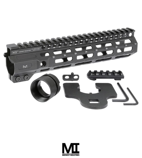 "MIDWEST INDUSTRIES AR-15 COMBAT HANDGUARD M-LOK ALUMINUM 9.25"" BLACK"