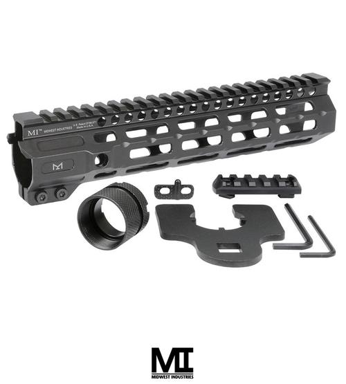 "MIDWEST INDUSTRIES AR-15 COMBAT HANDGUARD M-LOK ALUMINUM 9.5"" BLACK"