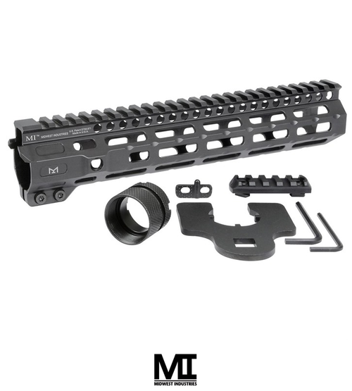 "MIDWEST INDUSTRIES AR-15 COMBAT HANDGUARD M-LOK ALUMINUM 10.5"" BLACK"