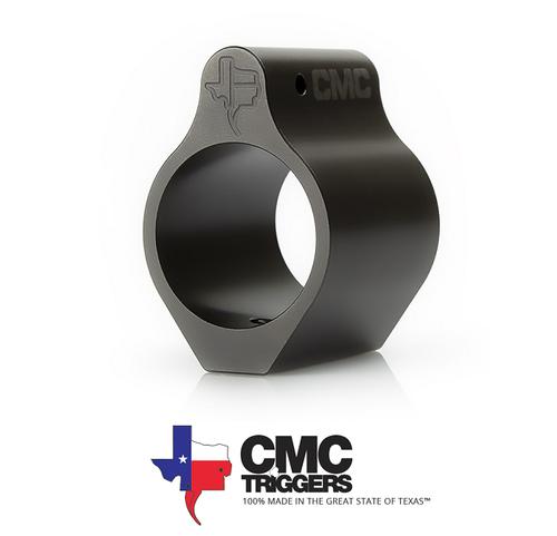 CMC LOW PROFILE AR15 GAS BLOCK .750 – NITRIDE FINISH