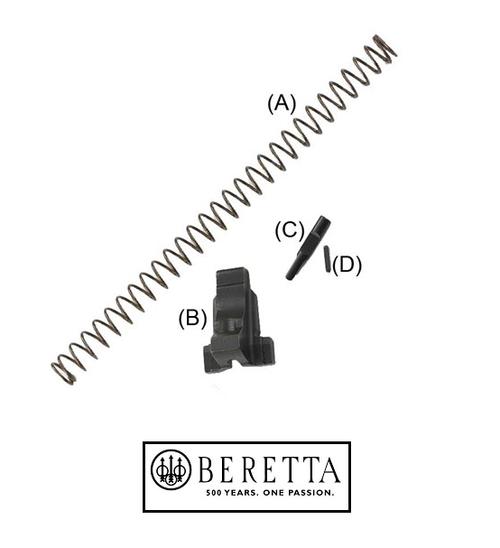 BERETTA LOCKING BLOCK UPGRADE 92FS (BLOCK, PIN, PLUNGER  AND RECOIL SPRING)