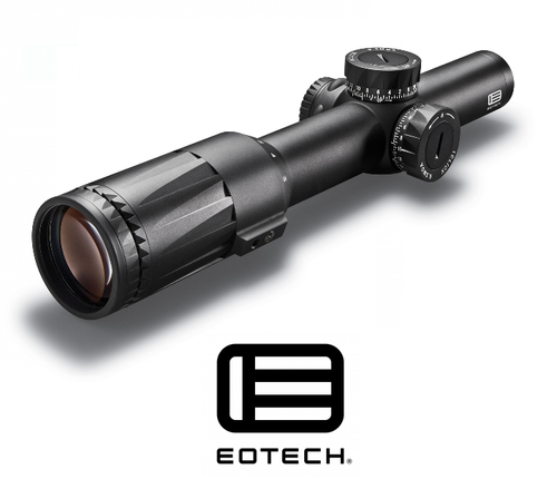 VUDU 1-6X PRECISION RIFLE SCOPE SR1 RETICLE (MRAD)