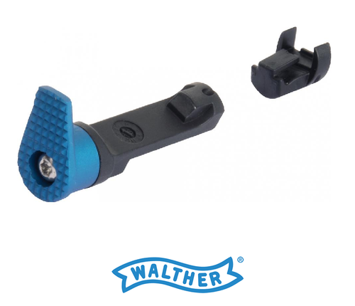 WALTHER PPQ EXTENDED MAG RELEASE ALUMINUM OVERSIZED HEAD