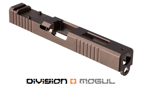 BROWNELLS RMR CUT SLIDE + WINDOW FOR GEN3 GLOCK 17 BRONZE PVD