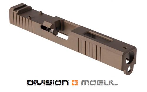 BROWNELLS RMR CUT SLIDE + WINDOW FOR GEN3 GLOCK 17 FDE PVD
