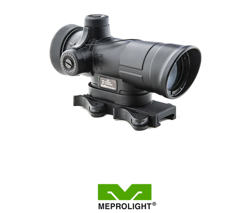 MEPRO X4 DAY SCOPE DUAL CALIBER 5.56 + 7.62 RETICLE