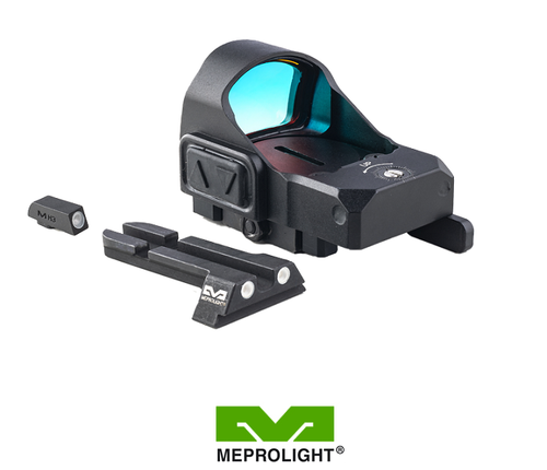 MEPRO MICRO RDS RED DOT SIGHT KIT FOR GLOCK ALL MODELS (Without MOS configuration)