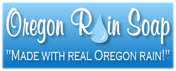 "Oregon Rain Soap ""Made with real Oregon rain!"""