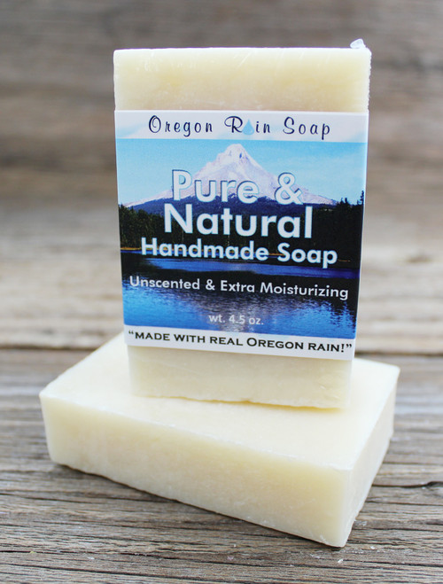 Pure & Natural - mild moisturizing bar soap Extra Moisturizing Colorant Free - Scent Free