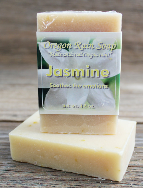 Jasmine - Mild Cleansing Bar Soap Made in Oregon, USA