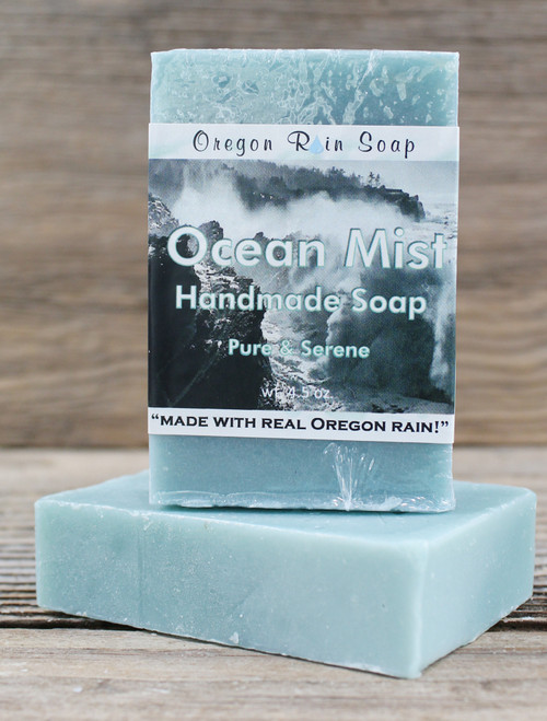 Mild cleansing bar soap Relaxing and Serene Made in Oregon, USA