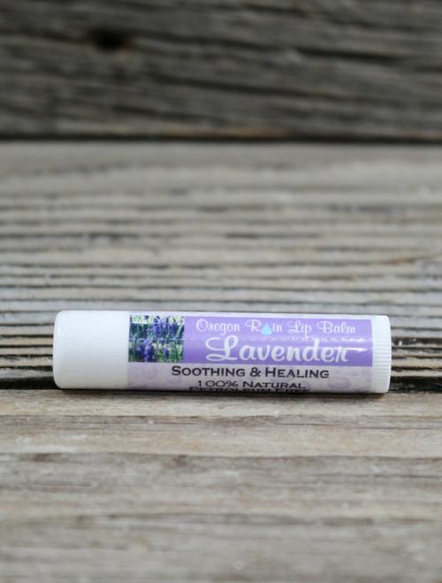 100% All Natural Lavender Essential Oil Moisturizing Lip Balm Made in Oregon, USA