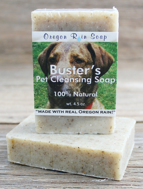 Dog shampoo - cleansing bar soap Great for dry, itchy, irritated skin 100% All Natural Made in Oregon, USA