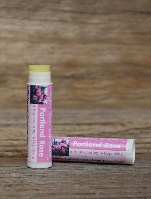 All Natural Portland Rose  Moisturizing Lip Balm Made Oregon, USA