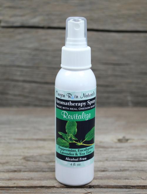 Revitalize: Peppermint, Eucalyptus, Lavender & Tea Tree Essential oils  Made in Oregon, USA