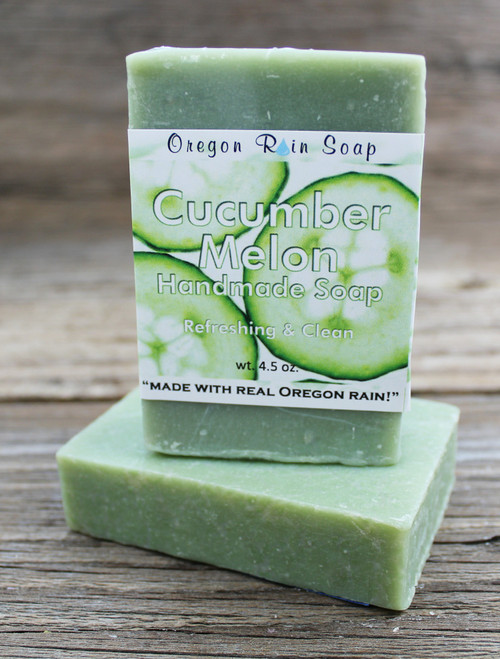 Mild cleansing bar soap Made with real Oregon rain! Made in Oregon, USA
