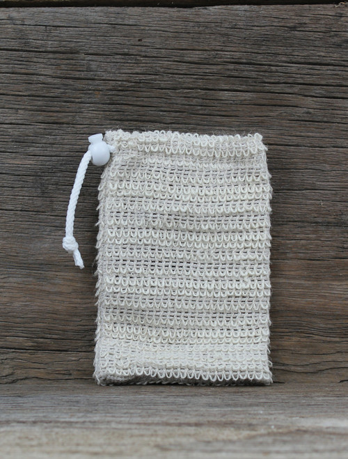 Natural Sisal Soap Saver Pouch