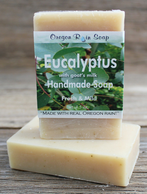 Mild cleansing bar soap 100% Natural Made with goat's milk