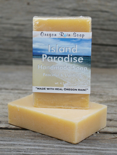 Island Paradise - Mild cleansing bar soap Plumeria & Sweet Orange A perfect combination that smells amazing!