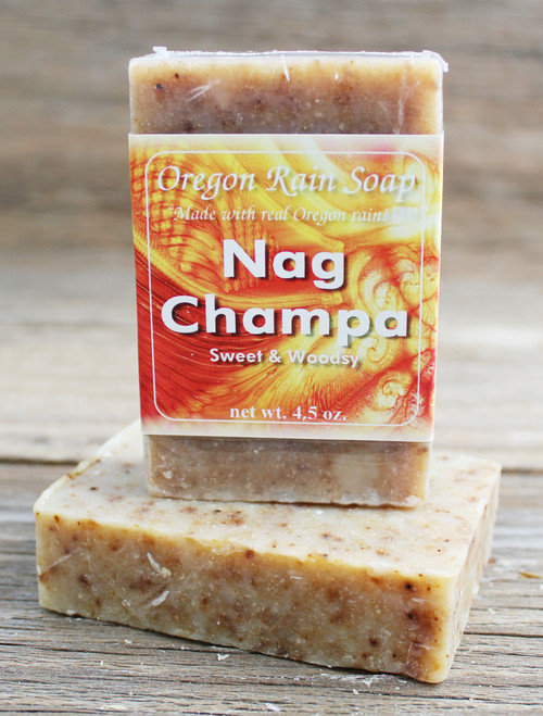 Nag Champa - mild cleansing soap Made in Oregon, USA