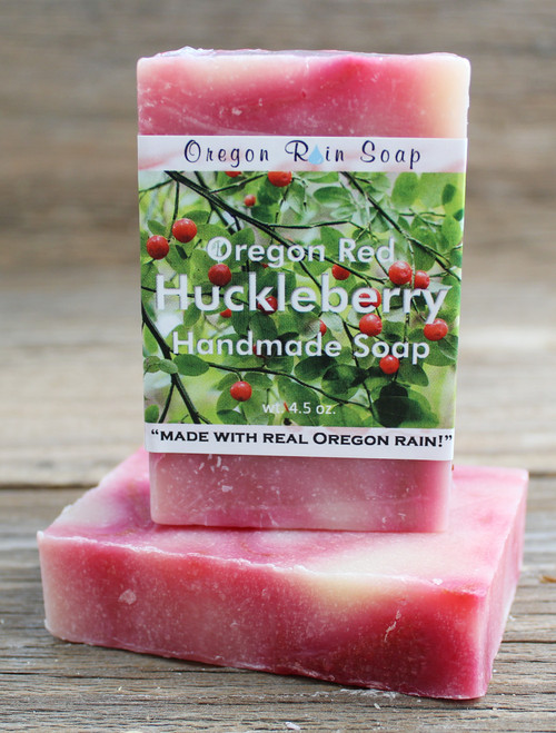 Oregon Huckleberry - mild cleansing bar soap Made in Oregon, USA