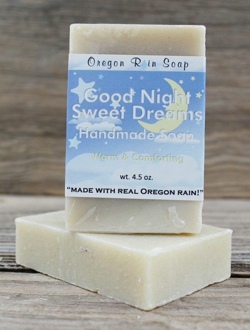 Goodnight Sweet Dreams - Mild cleansing bar soap Great for children & night time bathing 100% natural