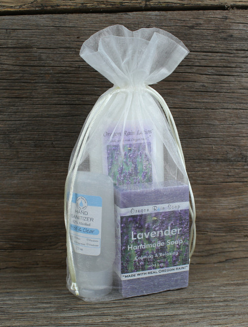 Relaxing & Calming 100% naturally scented Wash and moisturize hands. Use hand sanitizer when soap and water is not available.