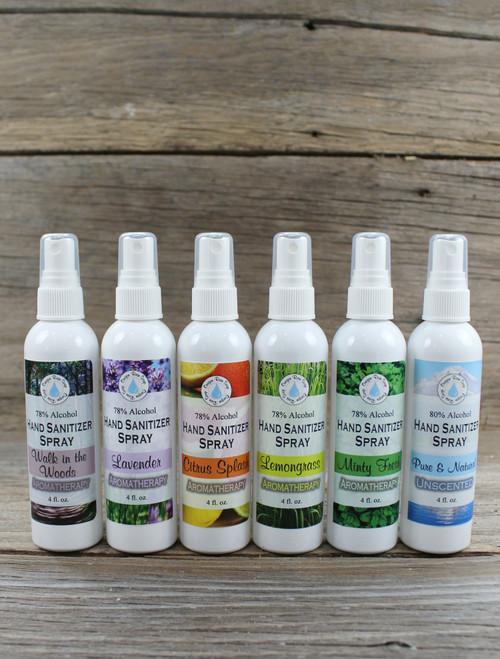 6 pack sampler Fine Mist Spray